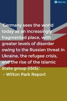 Perceptions from our young Brit & German leaders at WPBGF 2016 | Full report on our website
