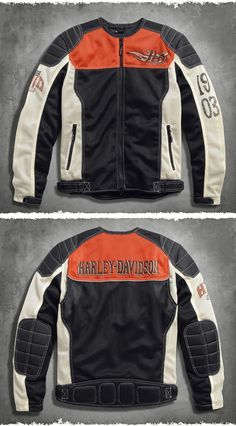 Take in the awe-inspiring sights of our great country with this jacket on your back. | Harley-Davidson Men's Sublime Mesh Riding Jacket
