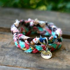 ASIAN UMBRELLA Braided Fabric Bracelet. For the Adopt Shop. Greatest way to buy something. God bless your shop!