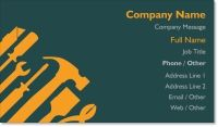contractor handyman Standard Business Cards