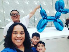 Family Art Time: Visiting The Broad in Los Angeles