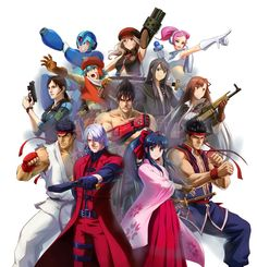 Project X Zone Characters