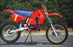 1983 Japanese Factory HONDA RC250M