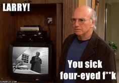 Another classic larry david moment