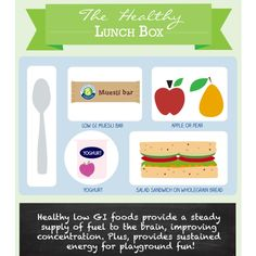 The healthy lunch box for little kids and big kids.