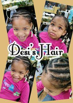 Desi's Hair CORNROWS