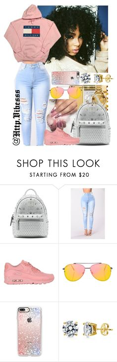 """""""Untitled #1023"""" by jazaiah7 ❤ liked on Polyvore featuring MCM, NIKE, Topshop, Casetify and BERRICLE"""