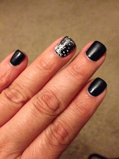 Winter nails mani by Thy.