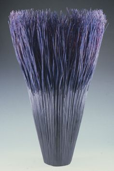 Mary Merkel-Hess vessels from reed and paper via the art room plant