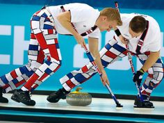 curling olympics 2014 | Winter Olympics 2014: Meet Norway's Curling Team and Their Pants - ABC ...
