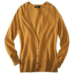 Need the gold one--Mossimo® Women's Ultra Soft Cardigan - Assorted Colors