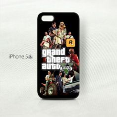 Grand Theft Auto Five iPhone 5 Cover Case | storephonecase - Accessories on ArtFire