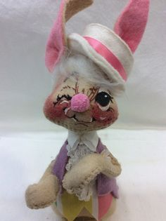 Hey, I found this really awesome Etsy listing at https://www.etsy.com/listing/268741944/vintage-annalee-easter-rabbit-bunny