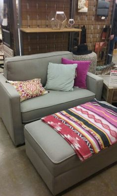 Chad Chair and a Half (world market) $300