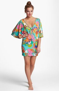 Trina Turk 'Sea Cove' Tunic Cover-Up available at #Nordstrom