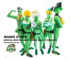 "Official Hype Squad of George Mason University: The Mason ""G"" Men"