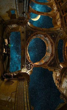 palast des nacht - Rebel Without Applause Beautiful Architecture, Art And Architecture, Aesthetic Art, Aesthetic Pictures, Arquitectura Wallpaper, Street Art Banksy, Night Skies, Travel Style, Aesthetic Wallpapers