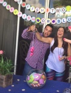 One fish two fish pink fish or blue fish?! Baby gender reveal party, fishing theme