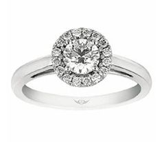 8 Best Martin Flyer Engagement Rings Images Halo Rings Wedding