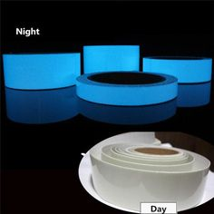 Luminous Tape Self-adhesive Safety Stage Home Decor – mollyee Day For Night, Goods And Service Tax, St Kitts And Nevis, Blue Green, Color Yellow, The Darkest, Adhesive, Safety, Fragrance