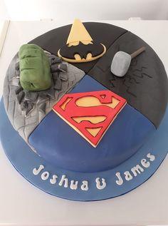 Avengers Birthday Cakes, Tableware, Desserts, Food, Dinnerware, Meal, Dishes, Deserts, Essen