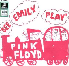 Pink Floyd - See Emily Play (1967) Cover Art