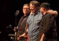 The Kruger Brothers wowed the crowd in the Walker Center at Merlefest 25
