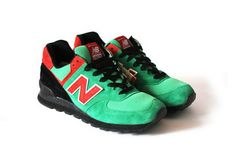 DJ Mars x Walters x New Balance 574 Holiday Pack