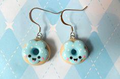 kawaii earrings | Kawaii Jewelry Donut Earrings Cute Polymer Clay Earrings