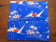 Vintage 1940s Christmas Tissue Wrapping Paper -- 3 Sheets | eBay