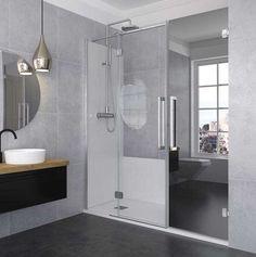 Konvert solution más espacio con menos reforma. Profiltek Bathroom Lighting, Bathtub, Mirror, Furniture, Solution, Home Decor, Bathrooms, Maximize Space, Shower Base