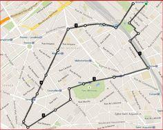 Parcours du 6K le 18/08/2015