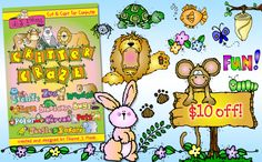 Buy 'Critter Craze' this week for $10 off the regular price!  (Sale applies to CD & downloadable version.)  But hurry, this offer ends February 18, 2015.