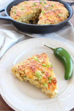 #Glutenfree Jalapeno Cheddar Cornbread #glutenfree #recipe