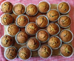 How to Make Pumpkin Chocolate Chip Muffins in Under 27 Minutes!  Trust me, you want these in your life.
