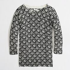 Factory Charley sweater in ribbon bow. This one is on sale for $14 today!