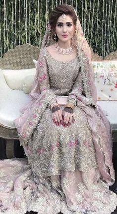 513 best pakistani bridal images in 2019 Asian Wedding Dress, Pakistani Wedding Outfits, Pakistani Bridal Dresses, Pakistani Wedding Dresses, Bridal Outfits, Indian Dresses, Indian Outfits, Pakistani Hair, Asian Bridal Dresses
