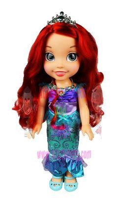 Disney Princess Toddler Ariel & Flounder