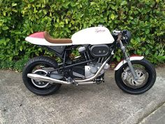 """Buell Cafe Racer """"Typhoon"""" by RedMaxSpeedShop #motorcycles #caferacer #motos 