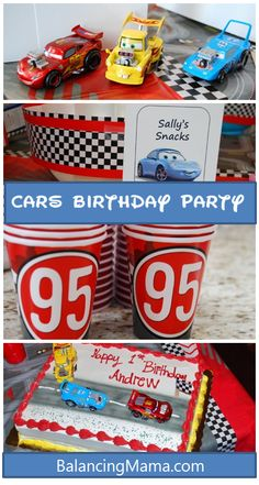 An unforgettable Cars birthday party #DisneySide @Home Celebrations #birthday