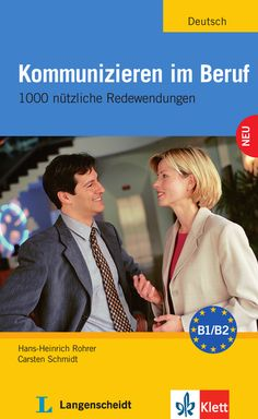 Kommunizieren im Beruf 978-3-12-606189-6 Deutsch als Fremdsprache (DaF)