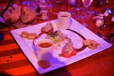 """""""It takes two"""" Seaflood Platter was served by Payne & Gunter to our loved up guests at Madame Tussauds - yummy!"""