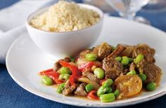 Lamb and broad beans - must try this