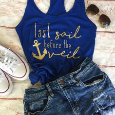 Bachelorette Party Shirts - Nautical Bachelorette Party - Bachelorette Cruise Shirts - Nautical Theme Bachelorette - Bachelorette Party by LuckTen on Etsy https://www.etsy.com/listing/512267096/bachelorette-party-shirts-nautical