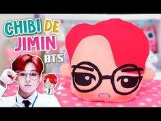 Haz tu PELUCHE CHIBI DE Suga BTS ♡ | Diy Kpop | Decora tu Habitación (FÁCIL) | Fabbi Lee - YouTube