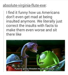 The truth my friends, tbh us Americans don't give a fuck.