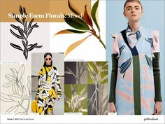 Vision 2: Spring/Summer 2019 Print & Pattern Trend Report | Patternbank #women'sfashiontrends