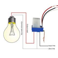 Kebidumei Горячие фотоэлемент уличный свет PHOTOSWITCH Сенсор AC DC 220 В 10A авто вкл выкл Сенсор переключатель белый и синий