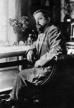 Claude Debussy by Henri Manuel