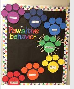 Behavior Bulletin board